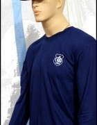 Long Sleeves Blue Security T-Shirt ( Brand Survival )