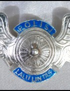 White Lantas Wing Badge