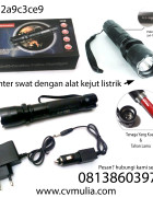 SWAT Multifunction Police Flashlight